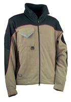 Ζακέτα Fleece Cofra Rider khaki/black